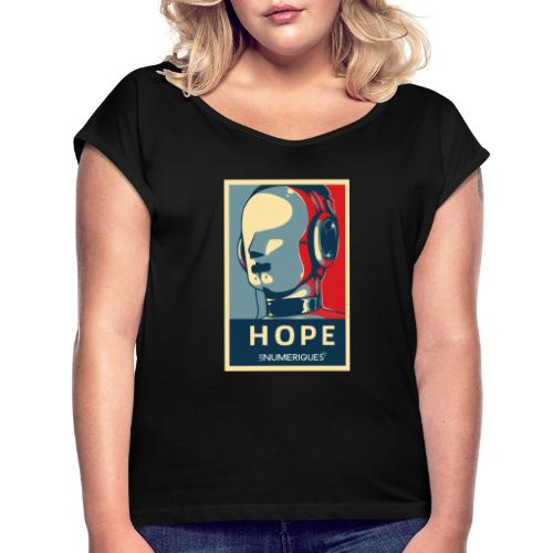 Rick Les Numériques - T-shirt à manches retroussées Femme