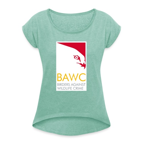 BAWC Logo - Women's T-Shirt with rolled up sleeves
