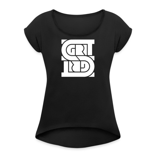 GRIT - Women's T-Shirt with rolled up sleeves