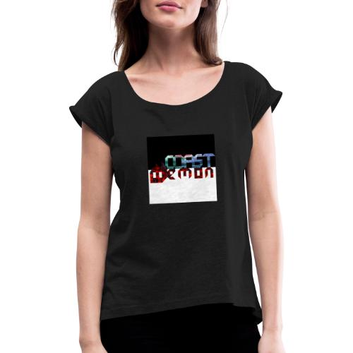 Coast Demon - Camiseta con manga enrollada mujer
