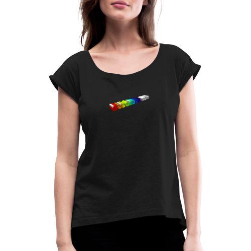 orgullo de bulgebull - Camiseta con manga enrollada mujer