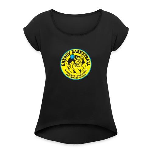 work energy basketbal - Maglietta da donna con risvolti