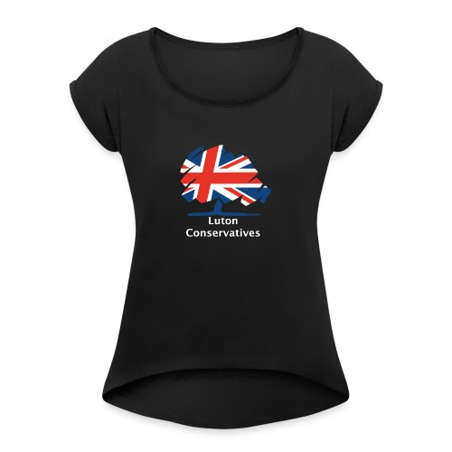 Luton Conservatives - Women's T-Shirt with rolled up sleeves
