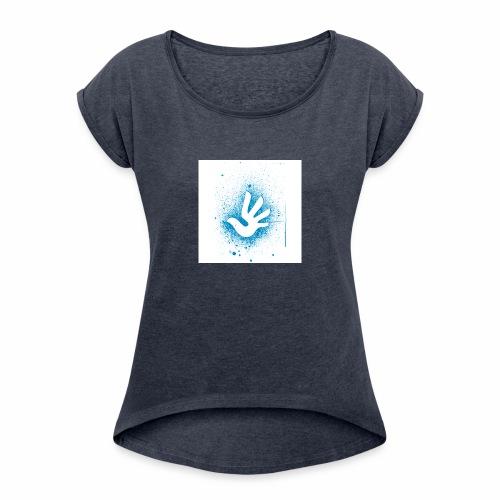 T Shirt 3 - T-shirt à manches retroussées Femme
