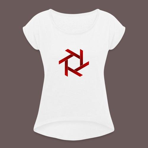 Star - Dame T-shirt med rulleærmer