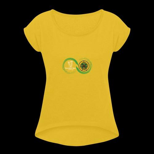 Harp and French CSC logo - T-shirt à manches retroussées Femme