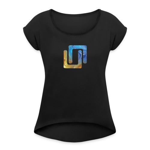 Neon Azerite 2019 - Women's T-Shirt with rolled up sleeves