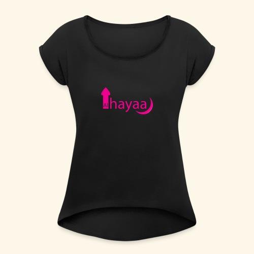 Al Hayaa - T-shirt à manches retroussées Femme
