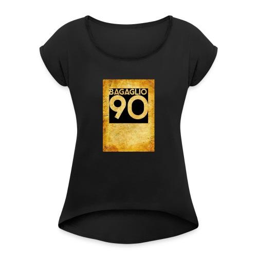 Anni 90 - Maglietta da donna con risvolti
