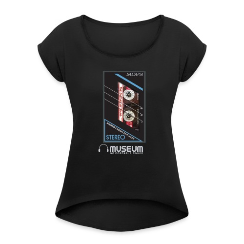 Culture of Sound Mix Tape - Women's T-Shirt with rolled up sleeves