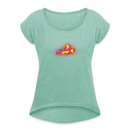Spilministeriet - Dame T-shirt med rulleærmer