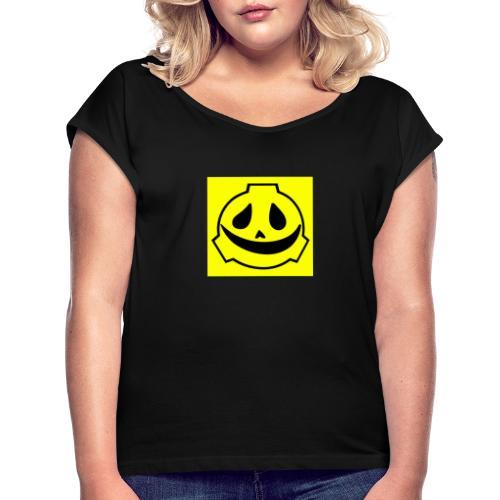 Scp project friendly merchandising - Maglietta da donna con risvolti