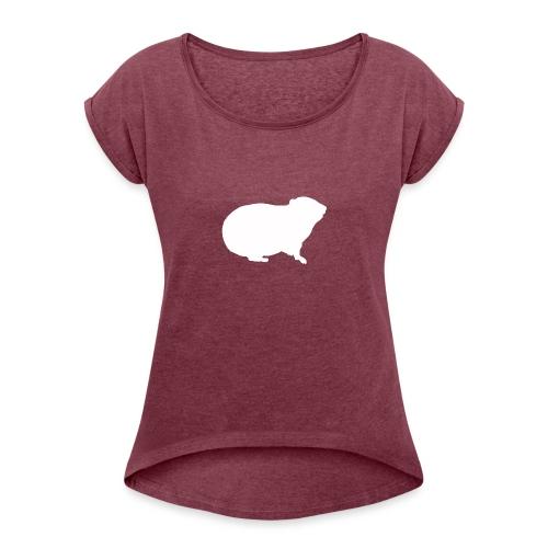 Larry Fitzpatrick X Hyracoidea - Frauen T-Shirt mit gerollten Ärmeln