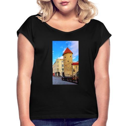 magazine unlock 05 2 3 1602 1b1346ba196e40768a674 - T-shirt à manches retroussées Femme