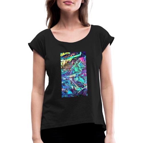 Pure Chaos - Camiseta con manga enrollada mujer