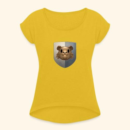 marmottes blason HD - T-shirt à manches retroussées Femme