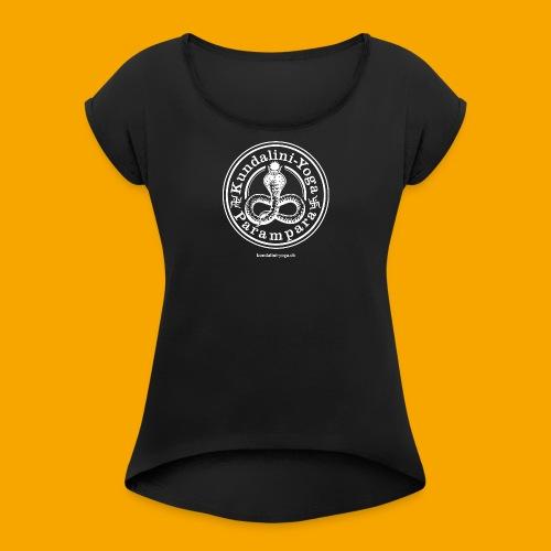 KUNDALINI-YOGA-PARAMPARA - Frauen T-Shirt mit gerollten Ärmeln