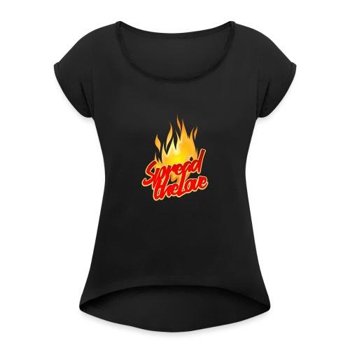 spread png - Maglietta da donna con risvolti