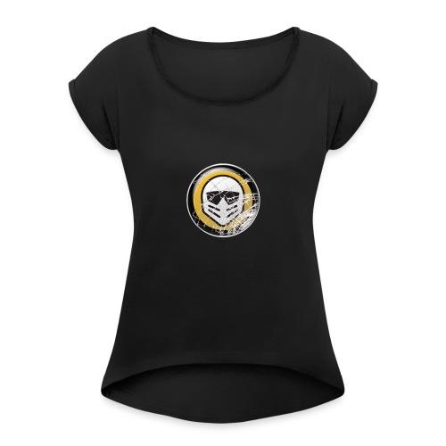 Jontes Profil Bild - T-shirt med upprullade ärmar dam
