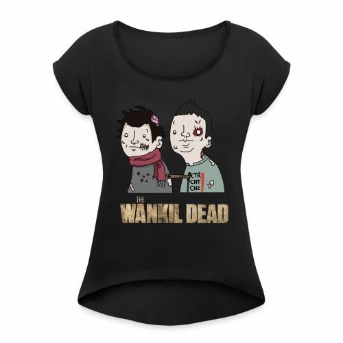 The Wankil Dead - T-shirt à manches retroussées Femme