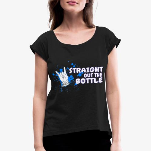 ROCK ON! - Women's T-Shirt with rolled up sleeves