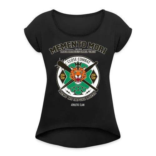 CLOSE COMBAT - T-shirt à manches retroussées Femme