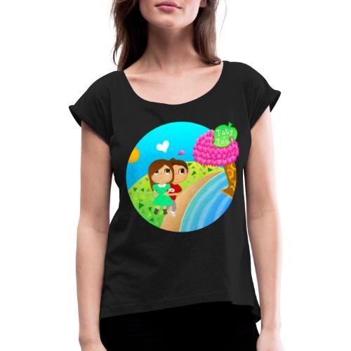Animal Crossing [VECTOR] - Maglietta da donna con risvolti