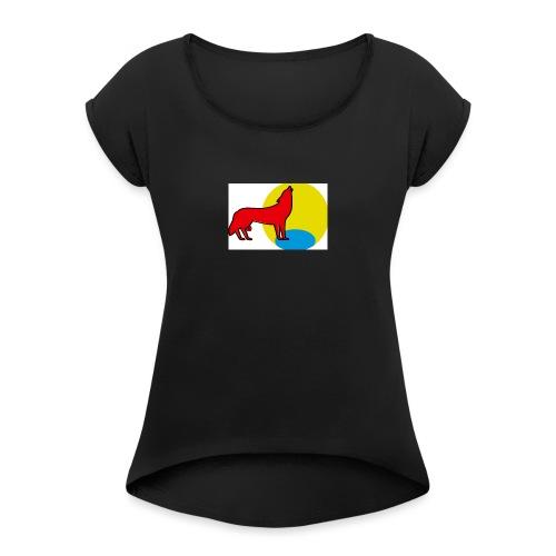 Wolfballs - T-shirt à manches retroussées Femme