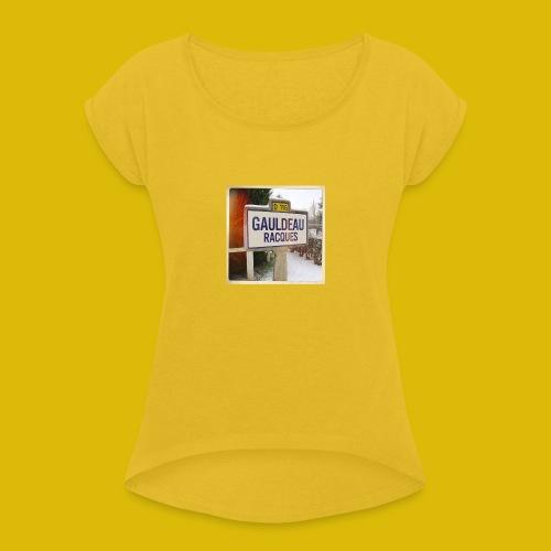 Gogoldorak - T-shirt à manches retroussées Femme