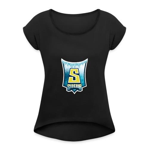 Siberia Gaming - Frauen T-Shirt mit gerollten Ärmeln