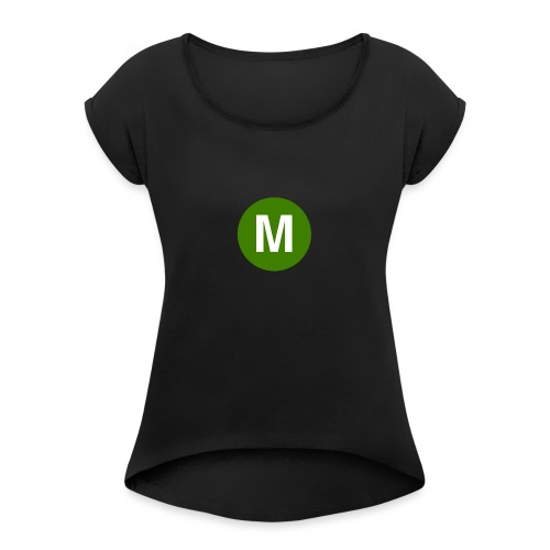 morgz - Women's T-Shirt with rolled up sleeves