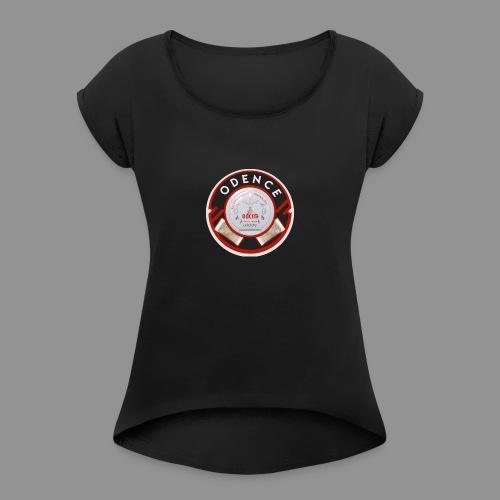odence - Naisten T-paita, jossa rullatut hihat