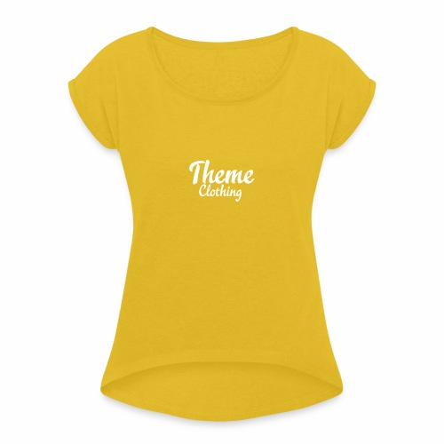 Theme Clothing Logo - Women's T-Shirt with rolled up sleeves