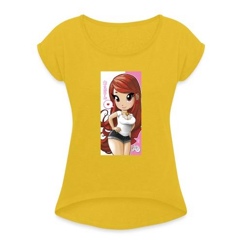 Acchan iphone6cover2 gif - Maglietta da donna con risvolti