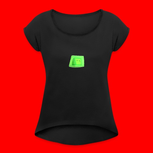 Squishy! - Women's T-Shirt with rolled up sleeves