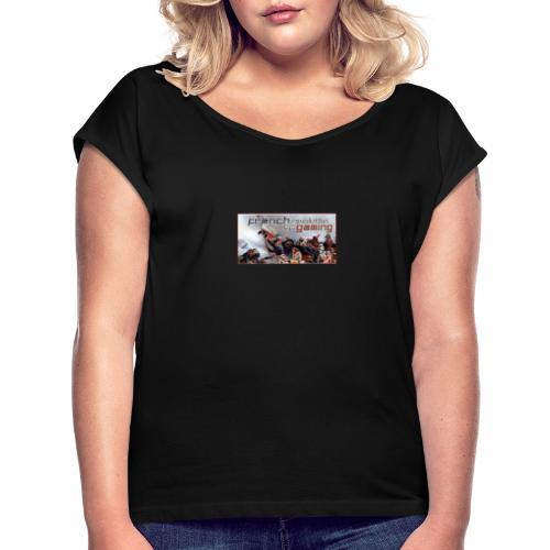 couverture - T-shirt à manches retroussées Femme
