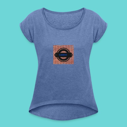 Brick t-shirt - Women's T-Shirt with rolled up sleeves