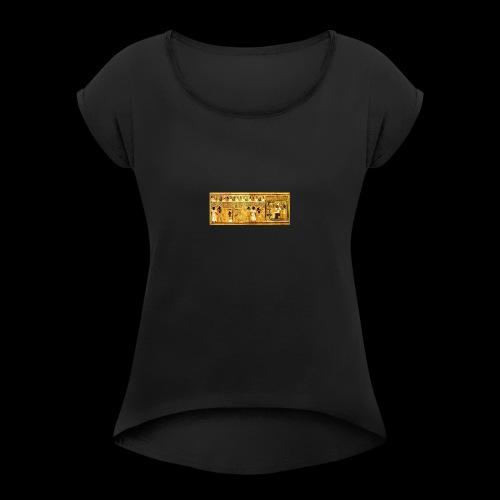 El libro de la muerte - Camiseta con manga enrollada mujer