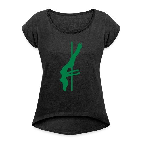 Pole Dance - Maglietta da donna con risvolti
