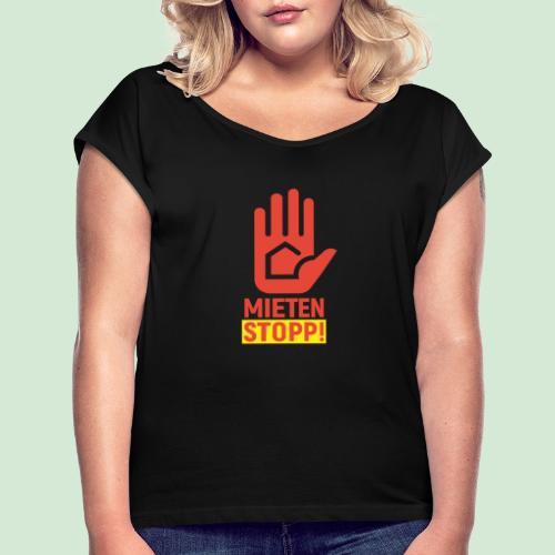 MSTOPP 72RGB - Frauen T-Shirt mit gerollten Ärmeln