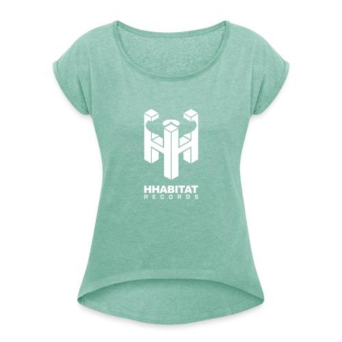 HHabitat Records Logo - Maglietta da donna con risvolti