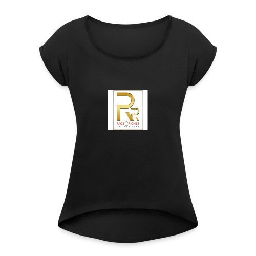 Ragz 1 - Women's T-Shirt with rolled up sleeves