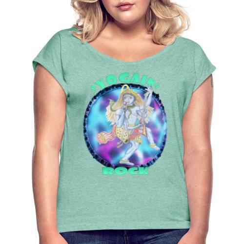 YogaIn Rock - Maglietta da donna con risvolti