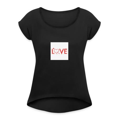 2DgfpAQ6 - Maglietta da donna con risvolti