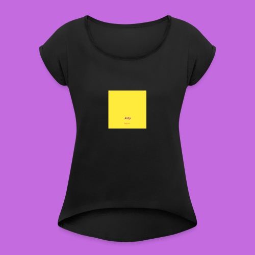 poster11 23 102854 - Maglietta da donna con risvolti