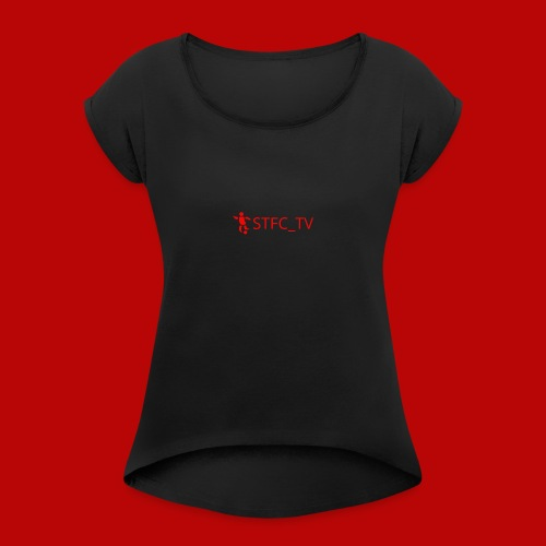 STFC_TV - Women's T-Shirt with rolled up sleeves