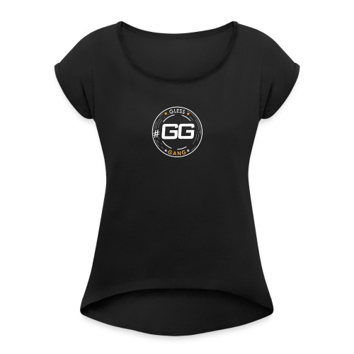 Untitled 1 - Women's T-Shirt with rolled up sleeves