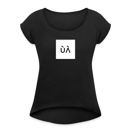 JuuL Clothing - Dame T-shirt med rulleærmer