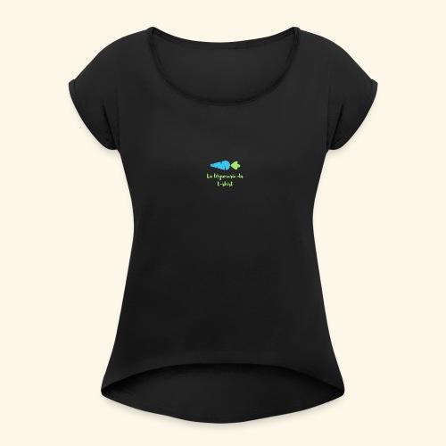 La Légumerie du T-Shirt - T-shirt à manches retroussées Femme