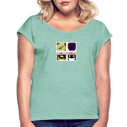 Bombers - Maglietta da donna con risvolti